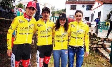 Extremadura MTB Team domina la I Vuelta Córdoba BTT con las parejas Romero-De la Peña y Bouhet-Alonso