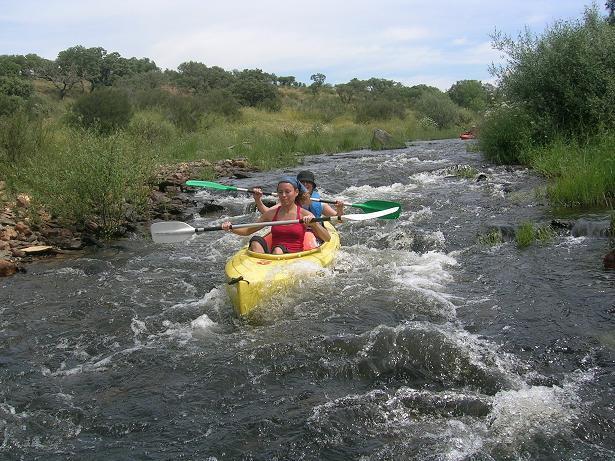 El V Encuentro Luso-Español de Piragüismo con el descenso por el río Erjas será los días 5 y 6 de abril