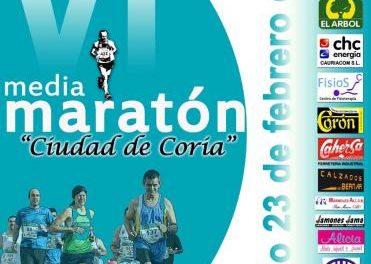 El Ayuntamiento de Coria cortará varias calles al tráfico con motivo de la VI Media Maratón Ciudad de Coria