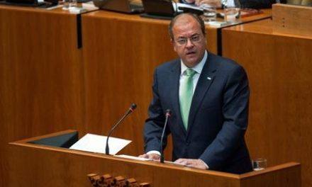 El presidente Monago muestra su pesar por la muerte del soldado extremeño en el Líbano