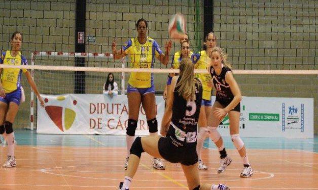 La Real Federación Española de Voleibol destaca a una jugadora del Extremadura Arroyo