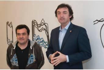 La Sala de Arte 'El Brocense' acoge la exposición 'Natura et Humanitas' del escultor César David