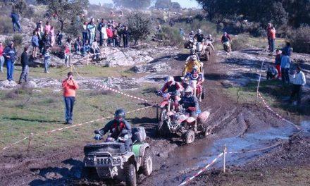 Unas 200 motos y quads han participado en la III Ruta Naharro organizada en Mata de Alcántara