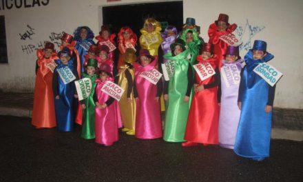 Los grupos «La Bella y la Bestia» e «Imaginación» ganan los primeros premios del Carnaval de Coria