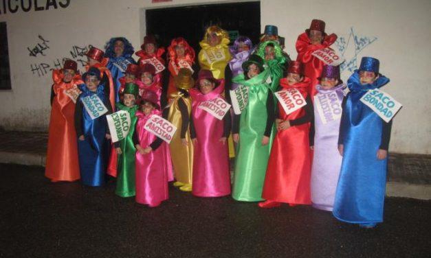 """Los grupos """"La Bella y la Bestia"""" e """"Imaginación"""" ganan los primeros premios del Carnaval de Coria"""
