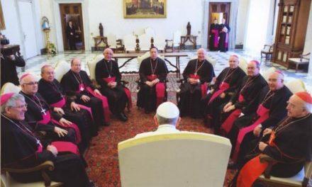 """El obispo de Plasencia define como un encuentro """"entrañable"""" su reunión con el Papa Francisco"""