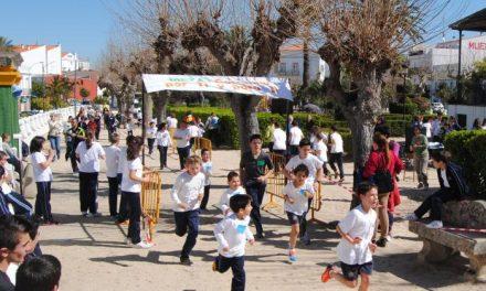 El Colegio Nuestra Señora de los Remedios de Valencia de Alcántara recauda 700 euros en una carrera solidaria