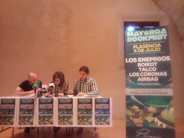Plasencia celebrará el Festival Mayorga Rock el 5 de julio con Los Enemigos como cabeza de cartel