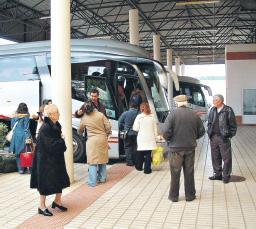 La mayoría de las estaciones de autobuses de la región presenta problemas de seguridad y limpieza
