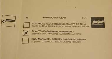 Los populares piden a la Junta Electoral la suspensión de los comicios al Senado en Badajoz