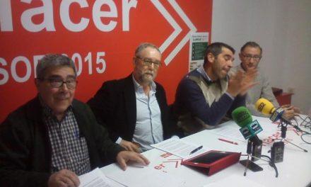 El PSOE de Plasencia pide a Pizarro que negocie con los dueños de las huertas una quita de parte de la deuda