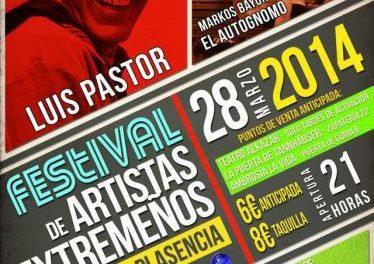 El I Festival de Artistas Extremeños reunirá el viernes en Plasencia a tres generaciones de cantautores