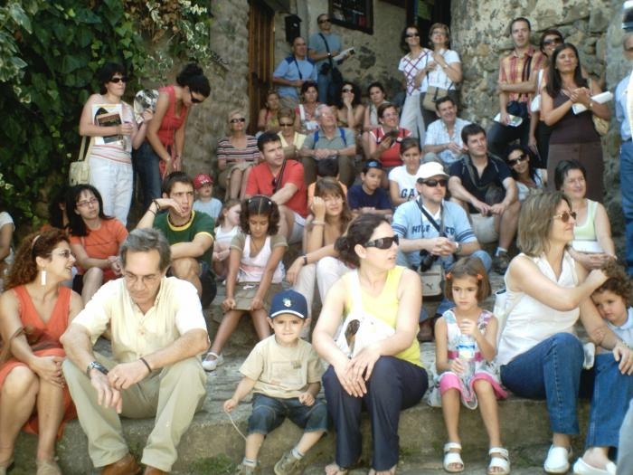 La octava jornada europea de la cultura judía de Hervás reunió a un centenar de personas