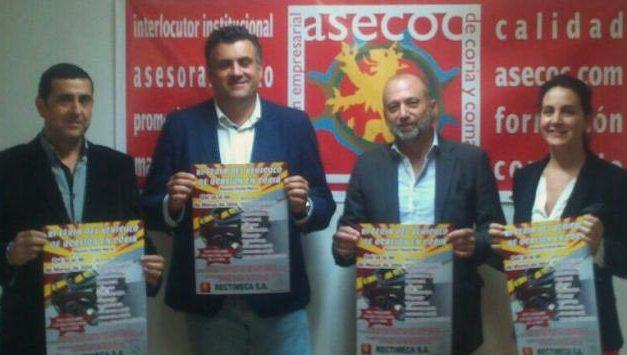 Asecoc y el consistorio de Coria animan a los ciudadanos a visitar la Feria del Vehículo de Ocasión