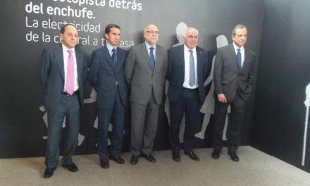 Echávarri destaca la labor de Red Eléctrica de España y la puesta en marcha este año de la línea Almaraz-Guillena