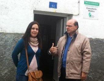 El director de Planificación visita Pinofranqueado para conocer las necesidades en materia de salud