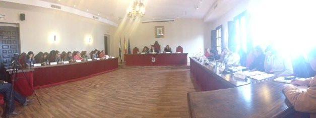 El Ayuntamiento de Coria aprueba las cuentas de 2014 pese a las 19 reclamaciones de los socialistas