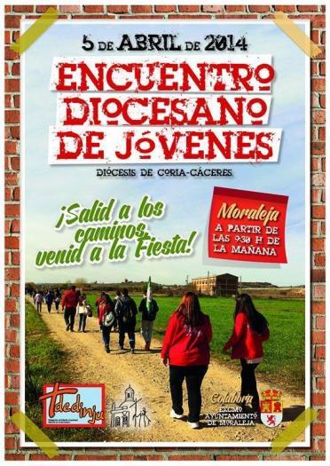 La localidad de Moraleja acogerá el sábado un encuentro de jóvenes cristianos