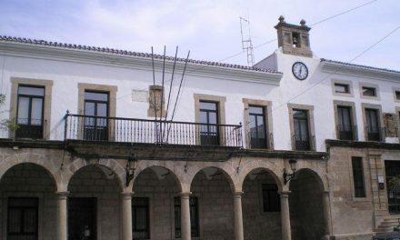 El Ayuntamiento de Valencia de Alcántara espera finalizar en mayo las obras del nuevo gimnasio municipal