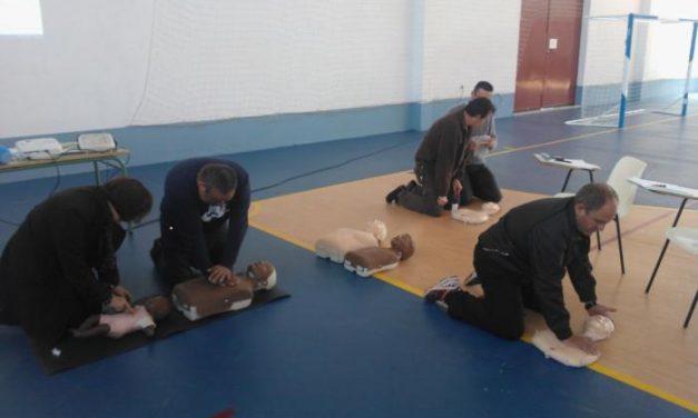 El Ayuntamiento de Moraleja ofrece cursos formativos de soporte vital básico a los trabajadores