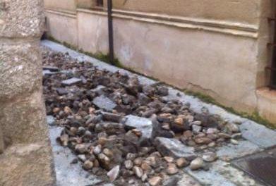 Diputación de Cáceres invierte más de 290.000 euros en las obras de empedrado de Coria