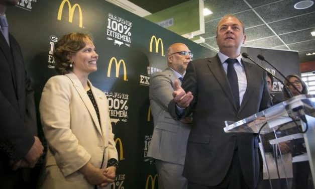 Una ganadería de Sierra de Gata suministrará carne para la nueva hamburguesa de McDonald's