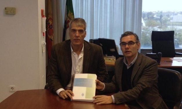 Valencia de Alcántara continua con los preparativos para la construcción del nuevo campo de fútbol