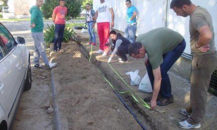 El Centro de Formación del Medio Rural de Moraleja forma a profesionales en mantenimiento de jardines