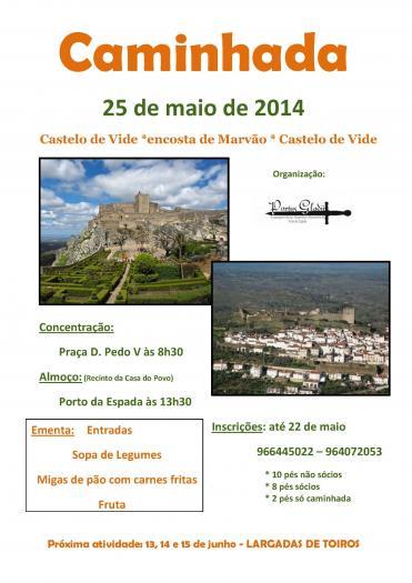 La Asociación lusa Portus Gladii organiza una ruta senderista por el concejo de Mãrvao