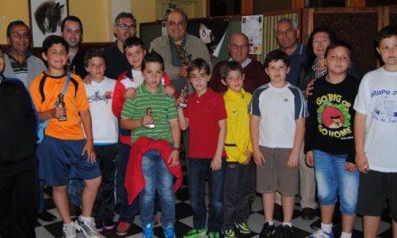 Justo Navas y Ángel Berbellido ganan el I Torneo de Ajedrez de Semana Santa de Valencia de Alcántara
