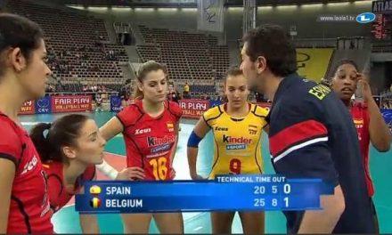 La deportista moralejana Alba Sánchez es convocada por la selección española de voleibol
