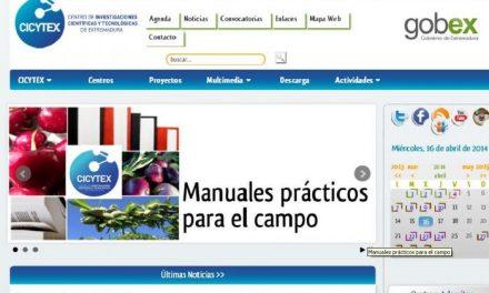El Centro de Investigaciones Científicas de Extremadura  estrena página web para difundir su actividad