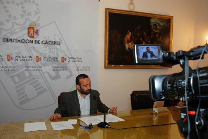 La Diputación de Cáceres aprueba ayudas a asociaciones y federaciones por importe de 84.000 euros