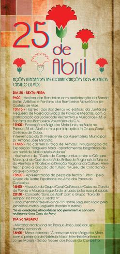 La localidad lusa de Castelo de Vide celebra el 25 de abril con una muestra de la vida del capitán Salgueiro Maia