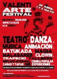 La localidad de Valencia de Alcántara celebra el IV Festival Valentiarte del 30 de abril al 2 de mayo