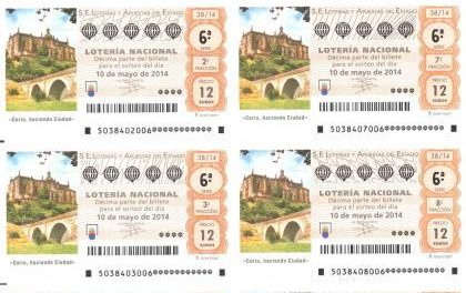 La localidad de Coria acogerá el próximo 10 de mayo el Sorteo de la Lotería Nacional en la Plaza de la Catedral