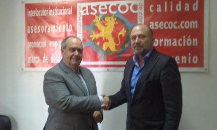 Asecoc refuerza sus relaciones con la Federación de Asociaciones de Comercio de Extremadura