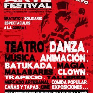 El IV Festival Valentiarte llevará a Valencia de Alcántara talleres de artes circenses