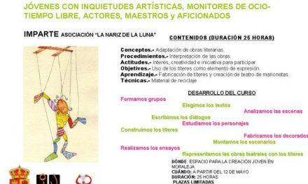 El Espacio para la Creación Joven de Moraleja organiza talleres de marionetas, cómic y tenis de mesa