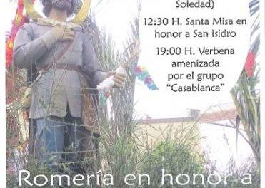Barcarrota celebra este sábado la Romería y el concurso de carrozas en honor de San Isidro
