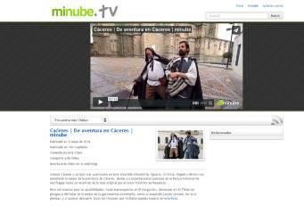 Diputación promociona la provincia de Cáceres a través de un video en el portal de viajes 'minube'