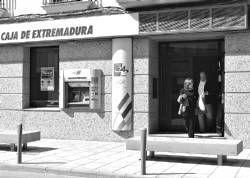 La oficina de la Caja de Extremadura de Villanueva de la Serena sufre el séptimo atraco en lo que va de año