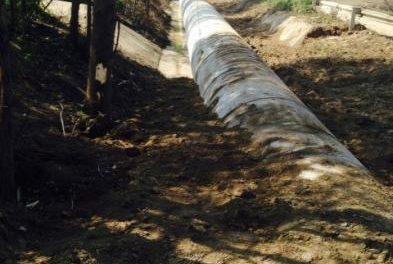 Moraleja finaliza las obras de encauzamiento de aguas en la carretera de Zarza la Mayor con 75.000 euros