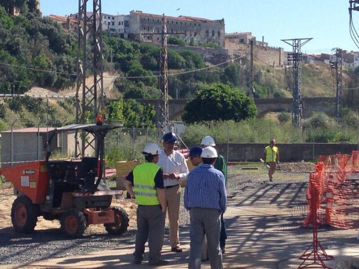 Las obras de la subestación eléctrica de Coria contarán con más de 1,6 millones de euros de inversión