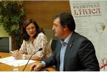 El programa 'Primavera Lírica' ofrecerá conciertos de ópera y zarzuela en diez municipios de la provincia