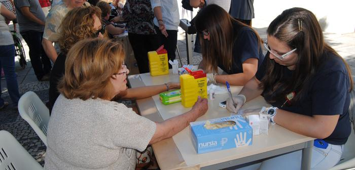 """Los alumnos del programa """"Cancho Penero"""" trataron a más de 100 personas en el Día de la Salud"""