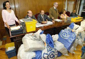 Correos entrega 5.394 votos procedentes del extranjeros en las juntas electorales extremeñas
