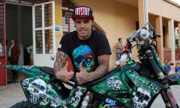 """El espectáculo del """"freestyle"""" llega a Coria con el subcampeón de España Jorge Bravo"""