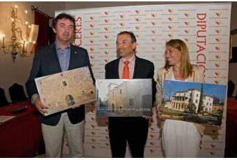 Diputación impulsará tres nuevos centros culturales y turísticos en la ciudad de Cáceres