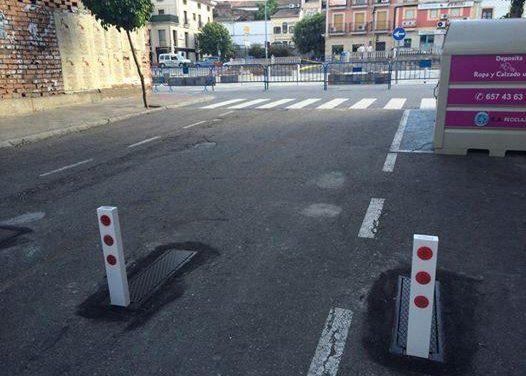 El Ayuntamiento de Coria implanta nuevos sistemas de regulación del tráfico para evitar el acceso de vehículos